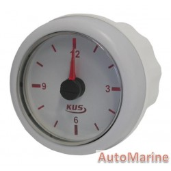 Clock - 52mm - White