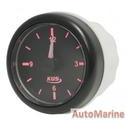 Clock - 52mm - Black