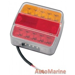 Right Hand LED Trailer Lamp - 12 Volt