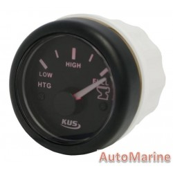 Sewage Gauge - 52mm - Black