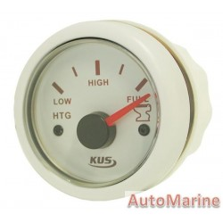 Sewage Gauge - 52mm - White