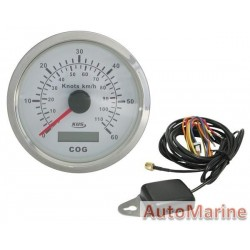 GPS Speedometer for Boats / Yacths / Trucks / Aeroplanes - White