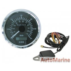 GPS Speedometer for Boats / Yacths / Trucks / Aeroplanes - Black