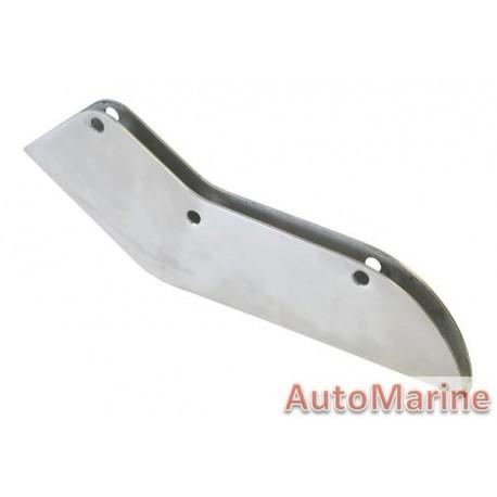 Skeg Protector - 60-90hp - 316 Stainless Steel