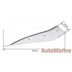 Skeg Protector - 115-250hp - 316 Stainless Steel