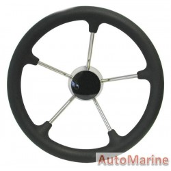 """Steering Wheel 13"""" - 316 Stainless Steel"""