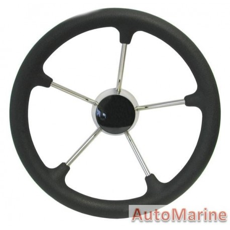 "Steering Wheel 13"" - 316 Stainless Steel"