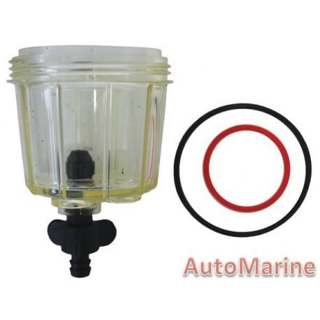 Lower Bowl / Drain Screw / O-Ring & Filter Ring