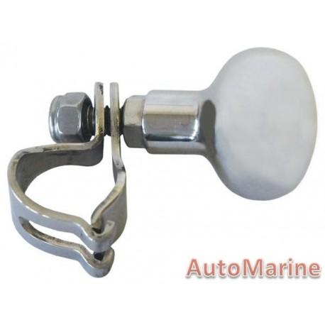 Steering Knob - Stanless Steel - C-Type