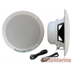 Marine Speakers - 2 Way 6 W/Acc