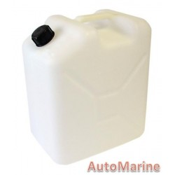 Plastic Jerry Can - 25L - Clear