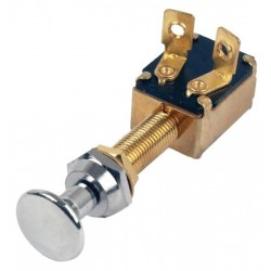 Pull Switch with Brass Knob - Off-On