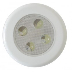 Roof Lamp with 4 LED - White