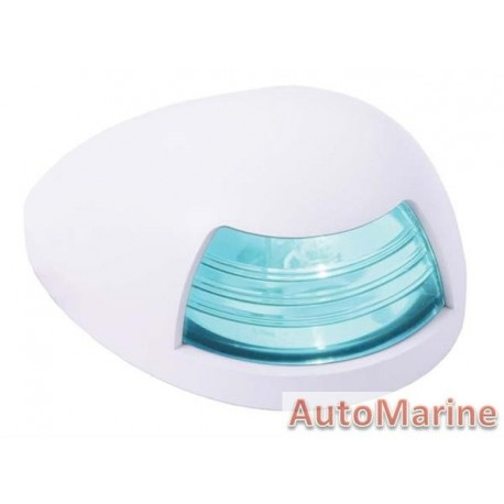 Green LED Starboard Navigation Light - Horinzontal Mount