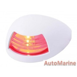 RED LED Port Navigation Light - Horinzontal Mount