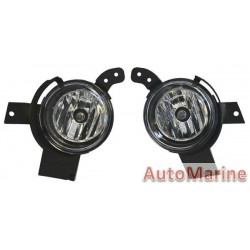 Fog Lamp Set for Ford Fiesta 2006-2009