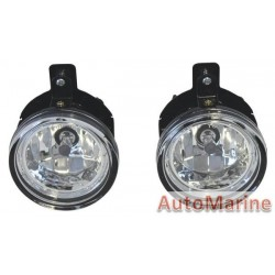 Isuzu D-Max 2 Spot Lamp Set