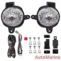 Toyota Hilux 2012 - 2014 Spot Lamp Set