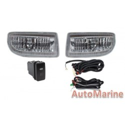 Toyota Land Cruiser FJ100 Up to 2006 Spot Lamp Set