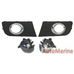 VW Amarok 2010 Onward Spot Lamp Set