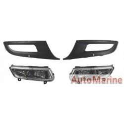 VW Polo 2010 - 2012 Spot Lamp Set