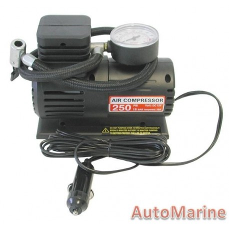 Air Compressor 250PSI - 12 Volt