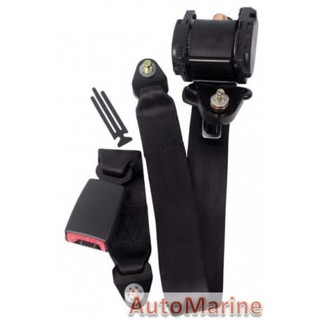 3 Point Seat Belt with E Mark