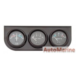 Amp / Oil Pressure / Water Temperature Gauge