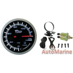 60mm Oil Pressure Gauge