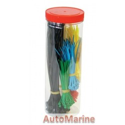 Cable Ties - Assorted - 300 Pieces