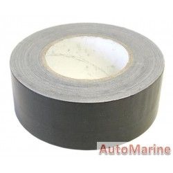 Cloth Duct Tape - Black - 50 Meter