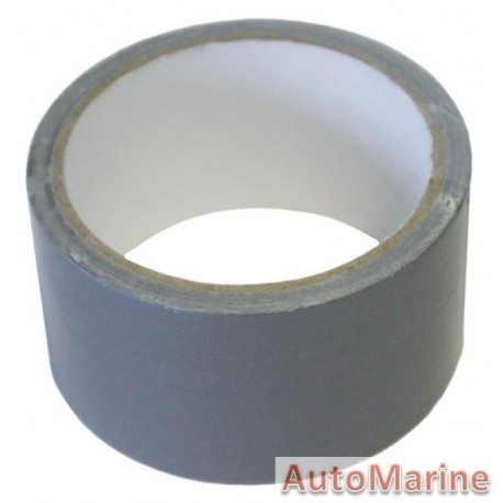 Cloth Duct Tape - Silver - 10 Meter