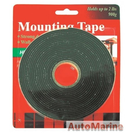 Double Sided Tape 2mm x 12mm x 5 Meter