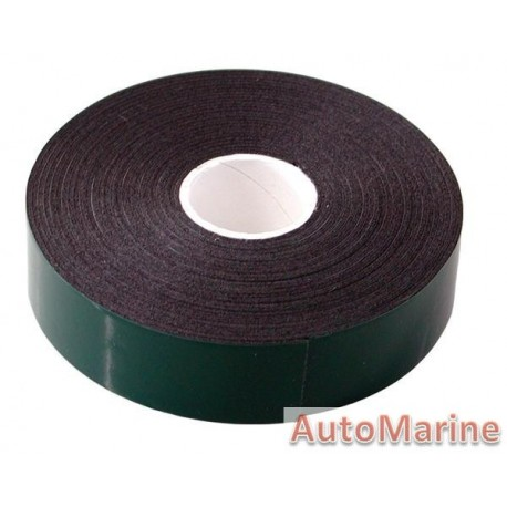 Double Sided Tape - Green - 12mm x 5 Meter