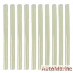 Hot Melt Glue Sticks - 11mm x 250mm - 10 Pack