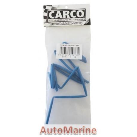 Heat Shrink Tubing - 3.5mm x 1M - Blue