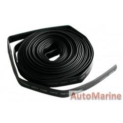 Heat Shrink Tubing - 12mm x 10M - Black