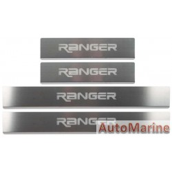 Door Sill Plate Set for Ford Ranger T6 / T7