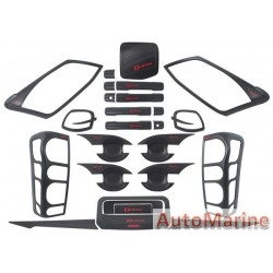 Complete Dress Up Kit for Isuzu DMax 2012 - 2015