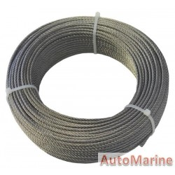 Stainless Steel Wore Rope 3mm x 50m