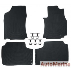 Toyota Corolla 2017 Onwards - Rubber Mat Set - OEM Fit