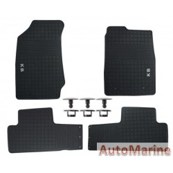 Isuzu 2017 Onward - Rubber Mat Set - OEM Fit