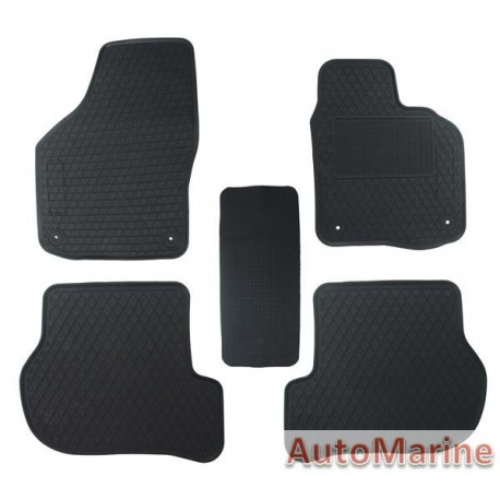 VW Golf Mk6 - Rubber Mat Set - OEM Fit