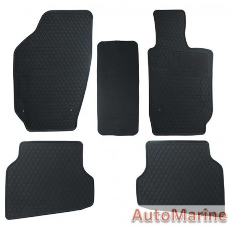 VW Polo MK6 - Rubber Mat Set - OEM Fit