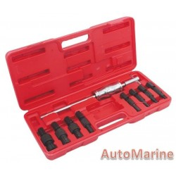 Blind Hole Bearing Puller Set - 9 Piece