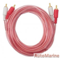 RCA Cable 5M With Plugs