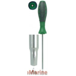 Screwdriver Triangle Head - 2.3mm x 4mm x 100mm
