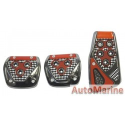 Pedal Pad Set (Red)