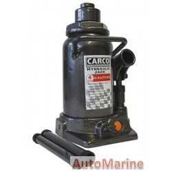 Hydraulic Bottle Jack - 4 Ton - Hi Line 4x4