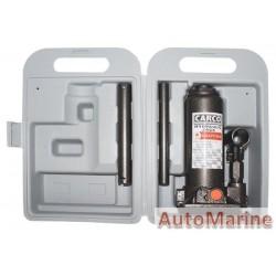 Hydraulic Bottle Jack - 4 Ton - With Case